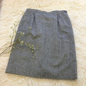 Vintage Pendleton Wool Pencil Skirt, size 16